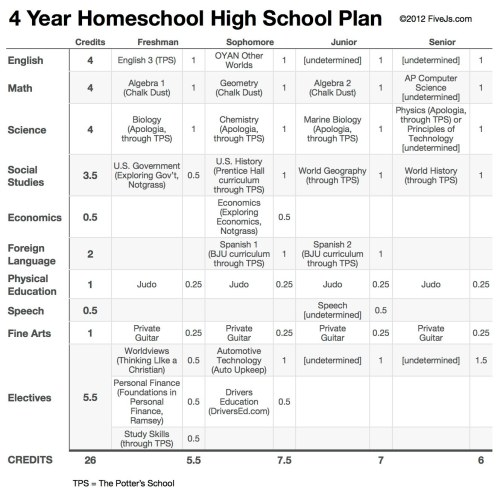small resolution of Our 10th Grade Homeschool High School Curriculum Plan