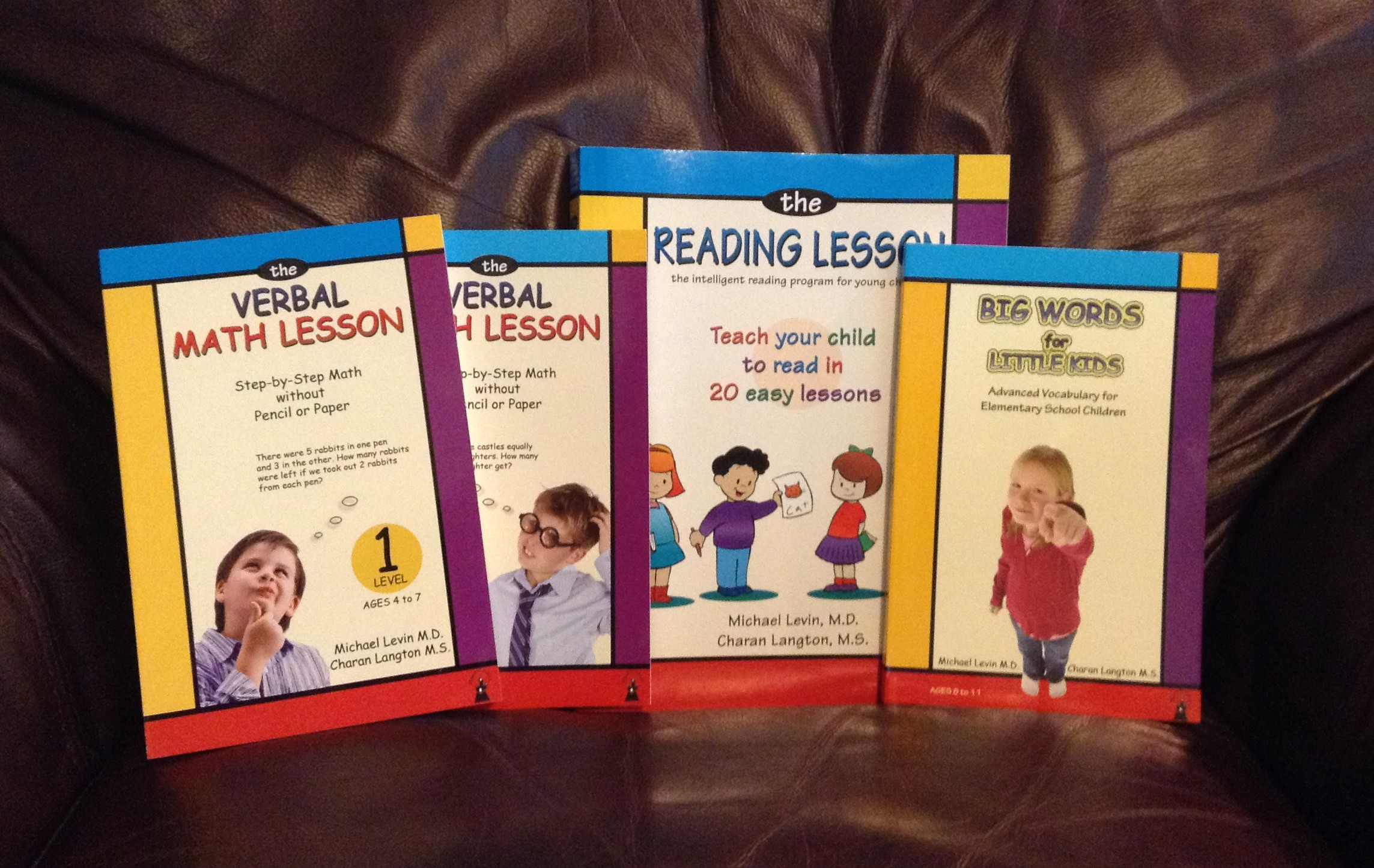 The Reading Lesson The Verbal Math Lesson And Big Words For Little Kids Review