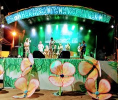 CARIMBATUQUE APRESENTA CARIMBÓ NA FESTIVIDADE DE SANT'ANA 2017