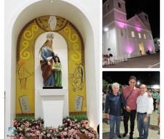 FESTIVIDADE DE SANT'ANA 2017 FECHA COM CHAVE DE OURO