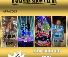 BAHAMAS SHOW CLUBE, ADQUIRA SEU INGRESSO