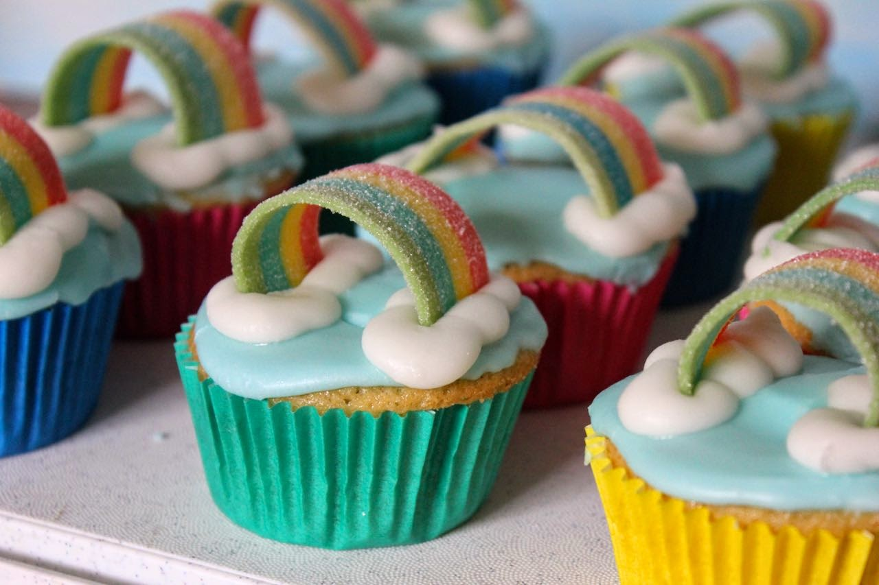 Rainbow week Day 3 Our epic rainbow cake fail  Five