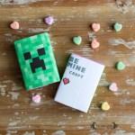 Be Minecraft Valentine's Day Printable