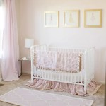 Sophisticated Blush and Gold Baby Nursery | Five Marigolds