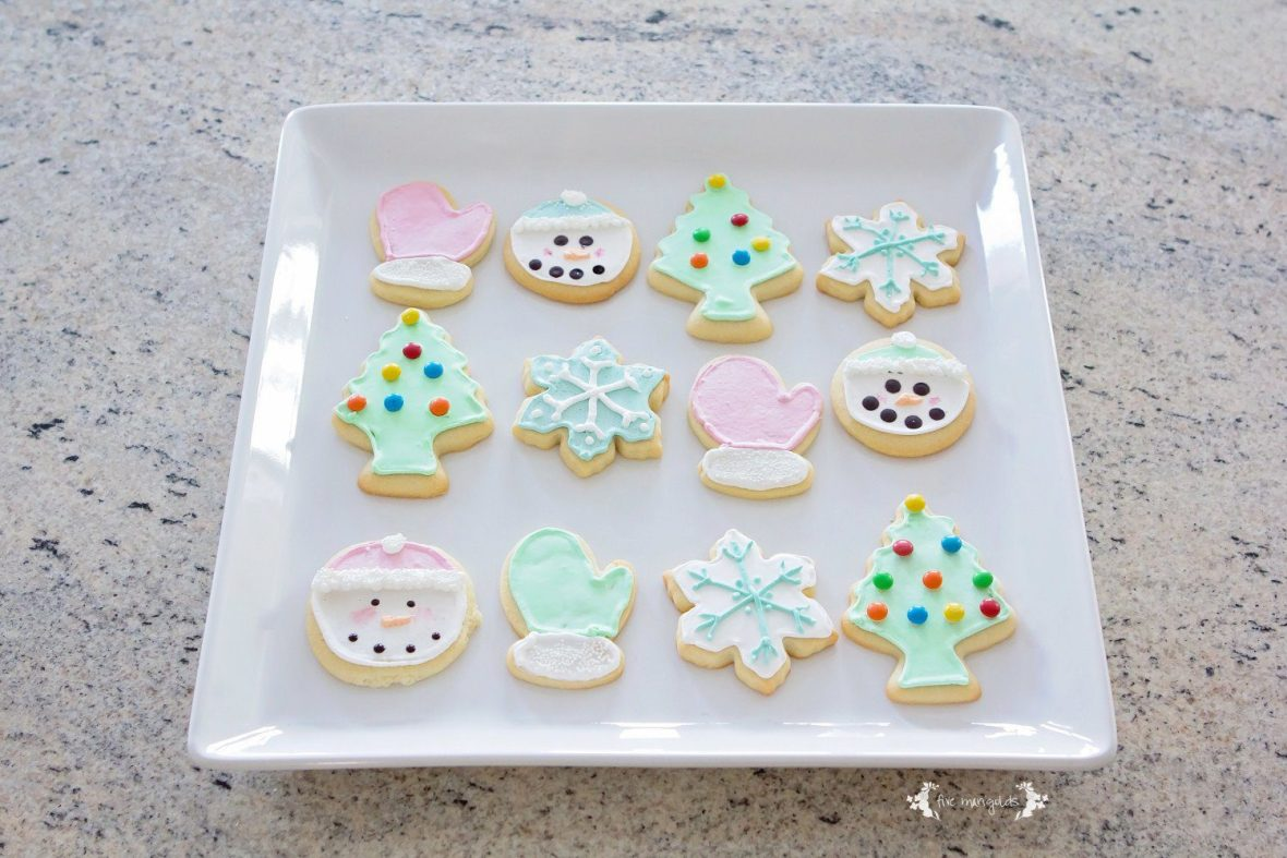Vanilla Almond Sugar Cookie Cut Out Recipe