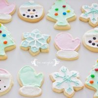 The Best Vanilla Almond Sugar Cut-Out Cookies