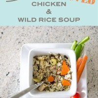 Easy Crockpot Chicken And Wild Rice Soup
