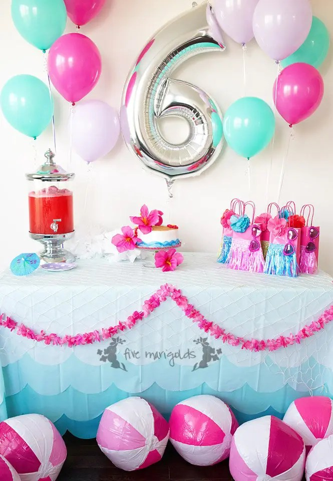 Malibu Barbie Pool Party Under 50 Five Marigolds