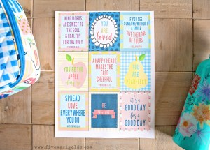 Matilda Jane July 2017 Back To School Release with FREE coordinating Positive Lunchbox Notes