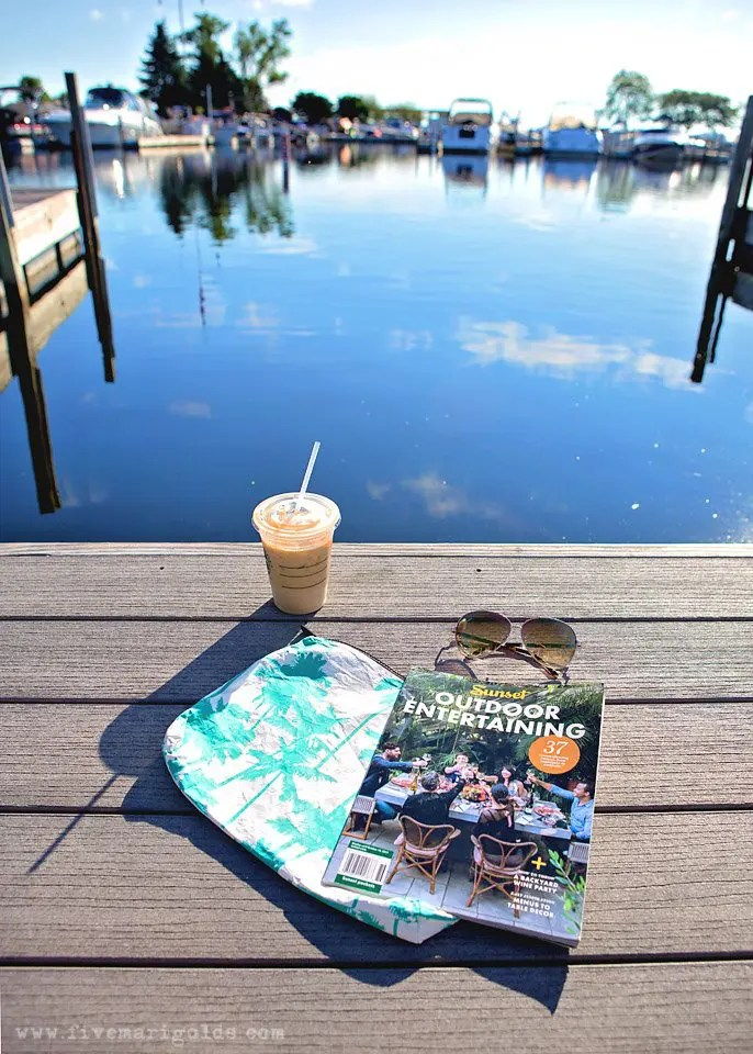 "Lake Life Staycation: Rediscovering the lost art of ""me time"" while on family vacation. #SummerMeTime ad"