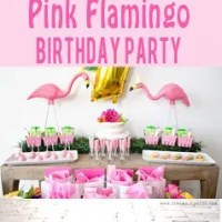 Pink Flamingo Birthday Party