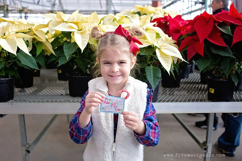 Random Acts of Kindness Advent Activities to prepare for Christmas. Free Printable Activities and leave-behind ROAK cards.