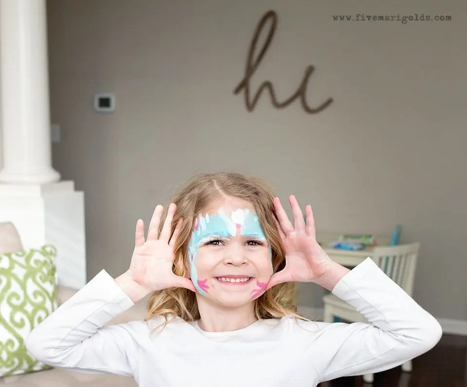 Bless This Mess: Face Painting Kids' Activity