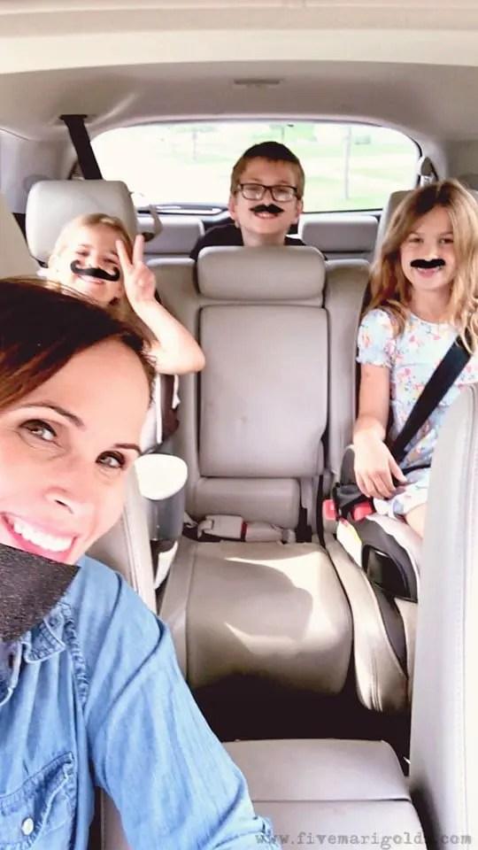 Free Printable Travel Journal for Kids - Road Trip Travel Tricks for Moms | Five Marigolds