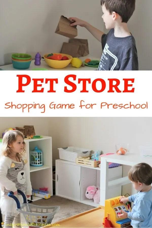 Pet Store Pretend Play