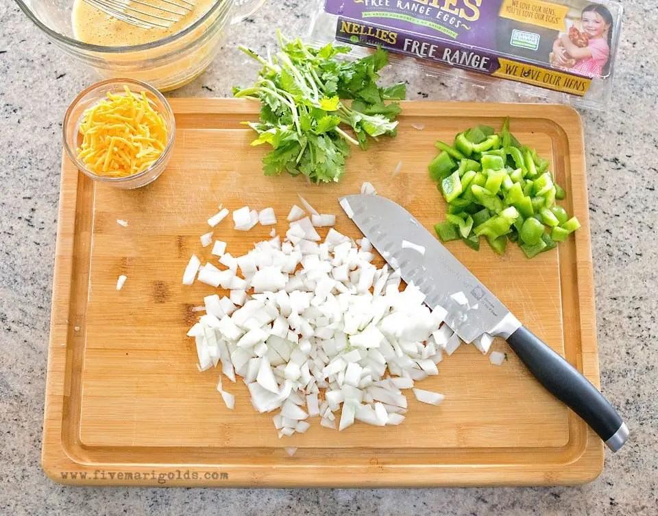 Southwest Breakfast Scramble Meal Prep Recipe