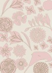 floral background toile