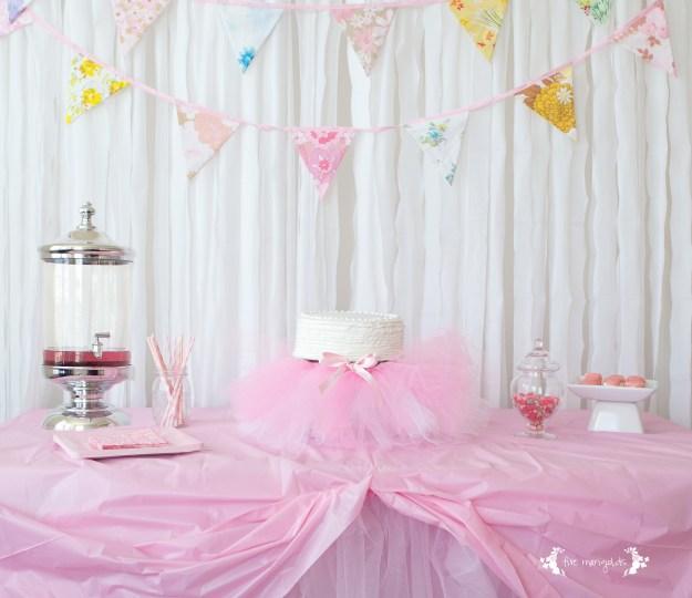 Tutu Ballerina Birthday Party | Five Marigolds