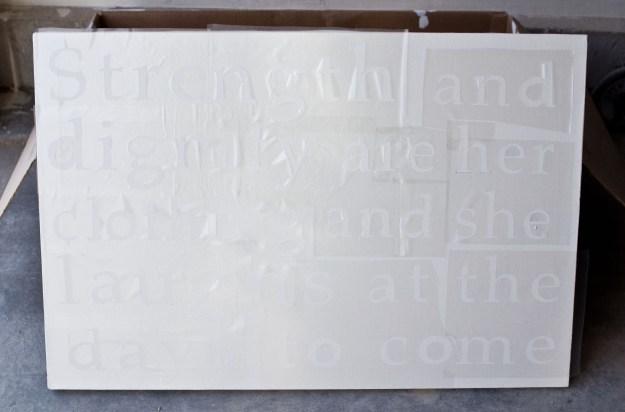 Proverbs 31 wall art | Five Marigolds