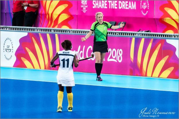 Commonwealth Games umpire