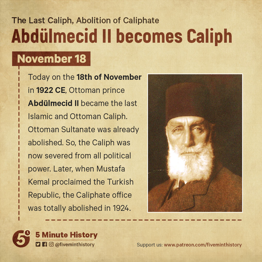Abdülmecid-II-becomes-the-last-Islamic-and-Ottoman-Caliph,-1922-CE