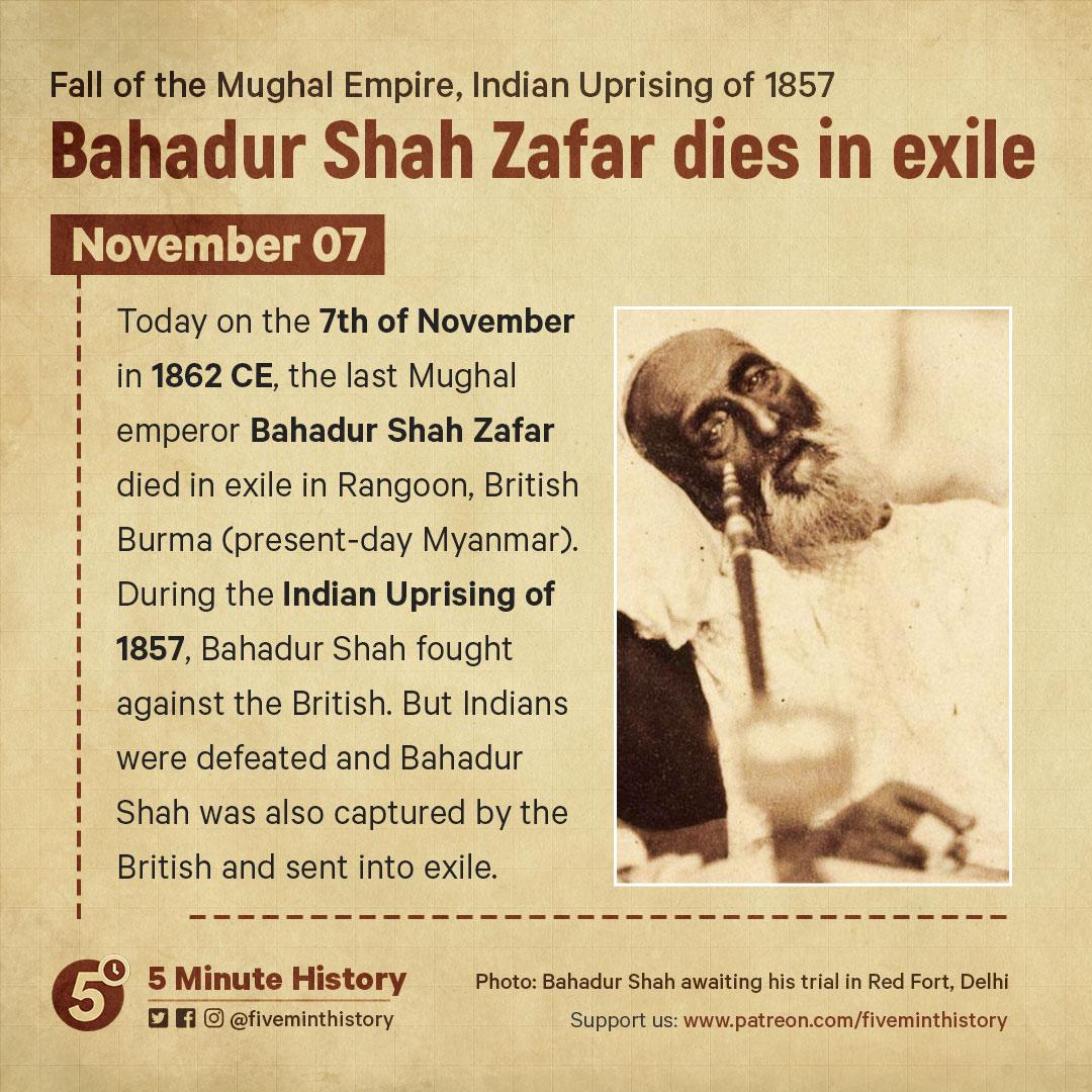 Bahadur-Shah-Zafar-dies-in-exile