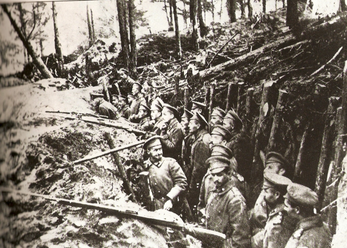 Russian trenches in the forests of Sarikamish | Wikimedia