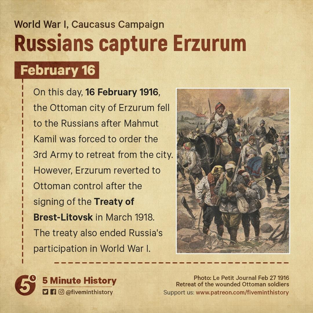 Russians capture Erzurum