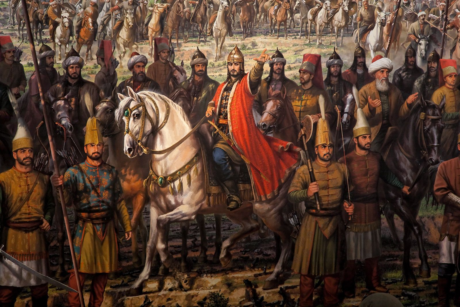 mehmed ii leaves for Constantinople 2