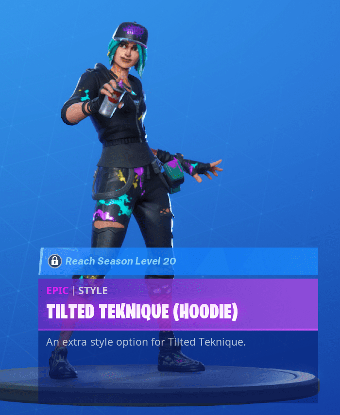 Tilted Teknique Hoodie