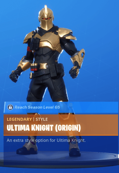 Ultima Knight Origin
