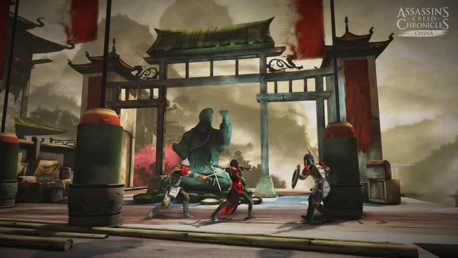 Ac China combat