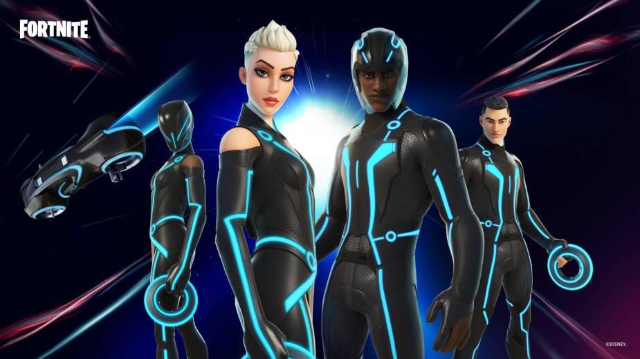 Tron Fortnite skins