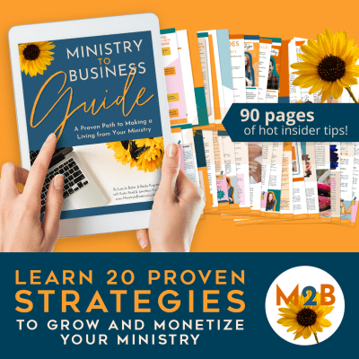 ministry to business