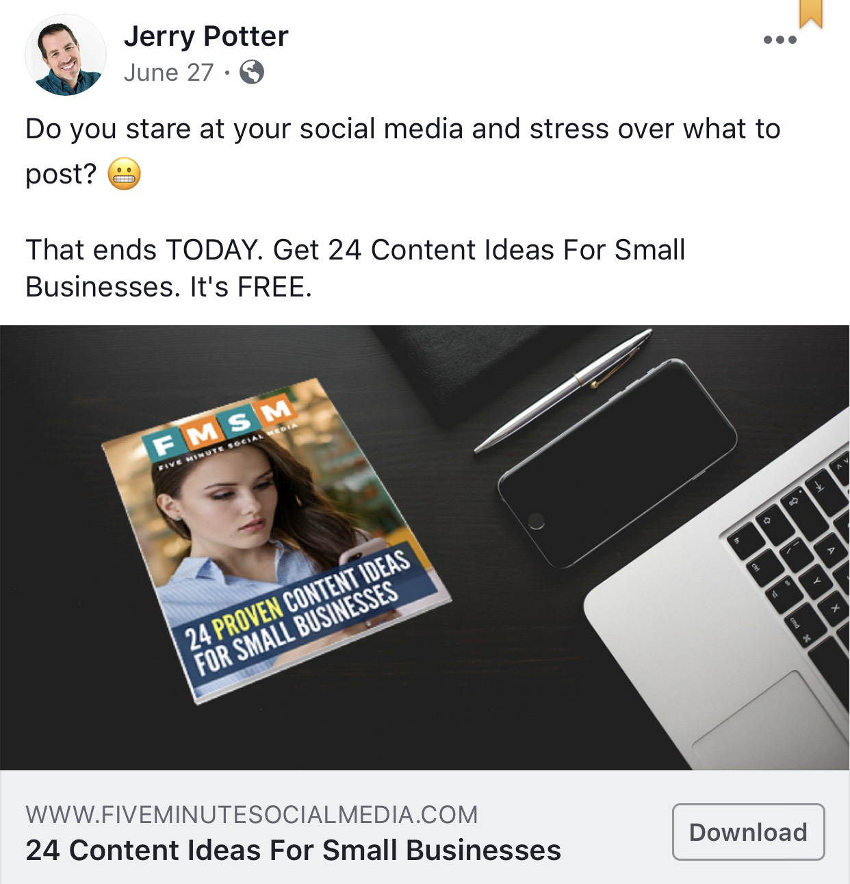 facebook-link-ad-with-1200-by-628-image-size - Five Minute