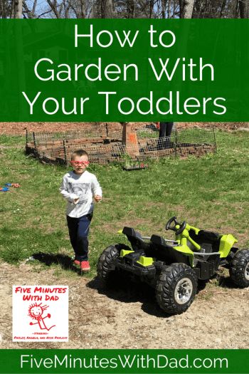 How to Garden With Your Toddlers