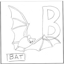 b-is-for-bat-big