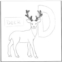 d-is-for-deer