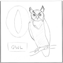 o-is-for-owl