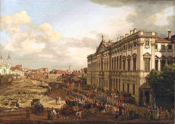 Canaletto painter of Warsaw  fivemonthsinwarsaw