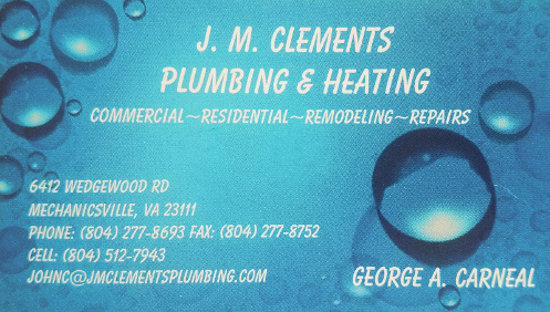 J. M. Clements Plumbing and Heating