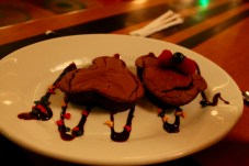 Mickey and Minnie brownies from our server at The Wave...of American Flavors