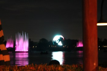 IllumiNations from the Rose and Crown patio