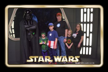Meeting Darth Vader
