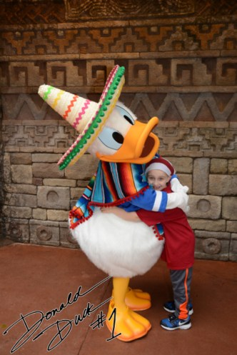 J with Caballero Donald