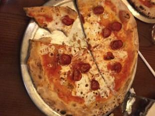 Pepperoni Pizza at Via Napoli