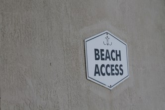 Beach Access at Hampton Inn Cocoa Beach