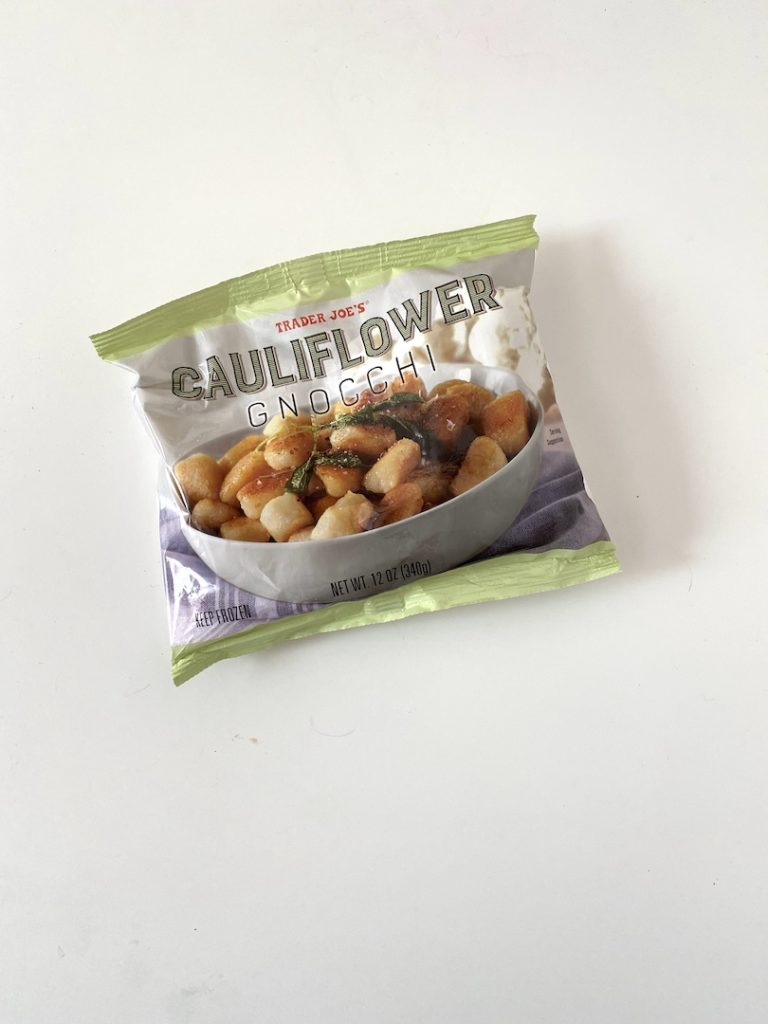 TJs Staples: Trader Joe's Cauliflower Gnocchi. FivePlates.com