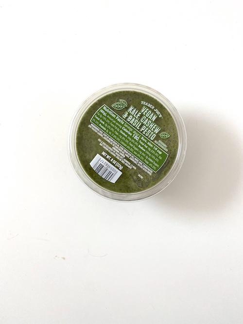 TJs Staples: Trader Joe's Vegan Kale Cashew Basil Pesto