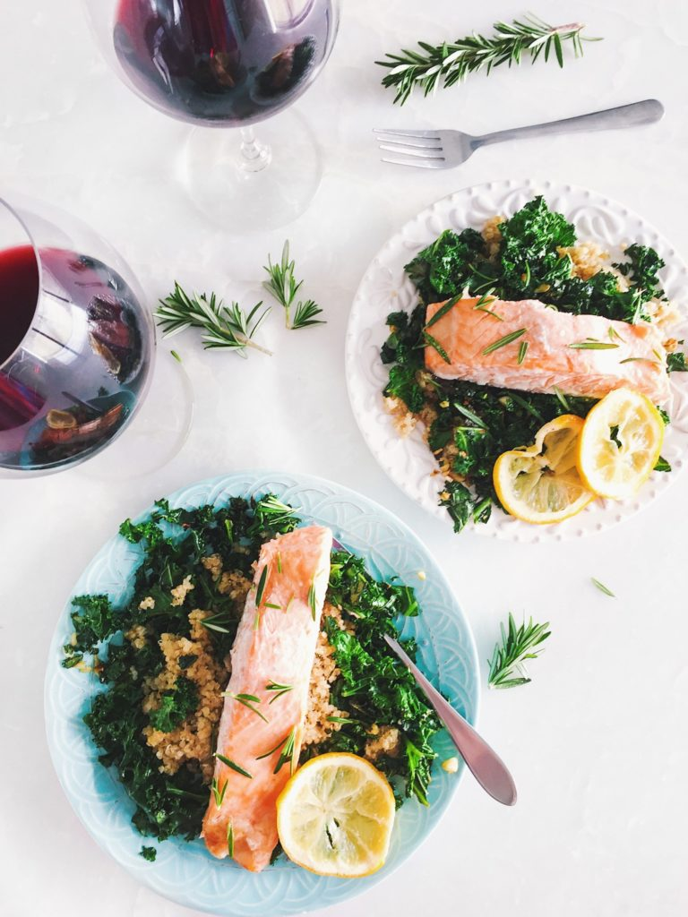 Tone It Up Baked Salmon